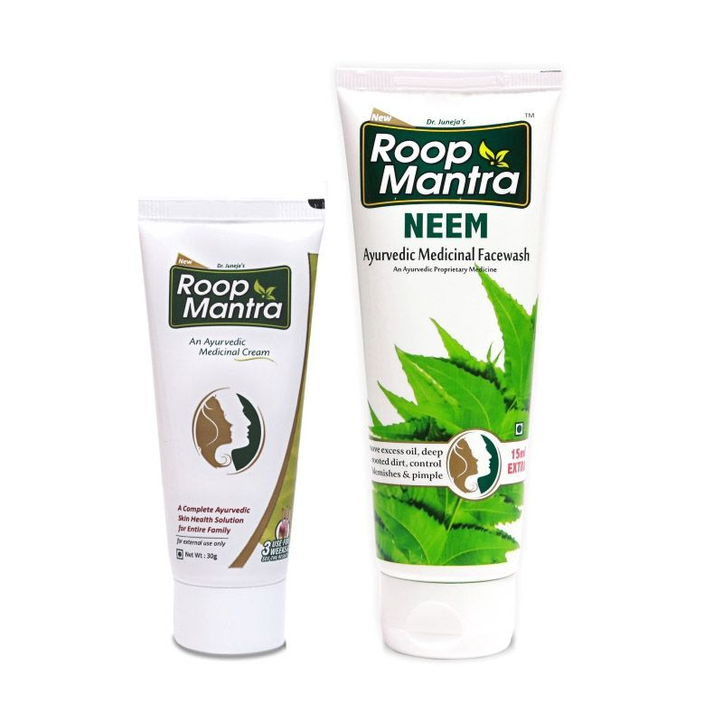Roop Mantra Combo (Face Cream + Neem Face Wash)