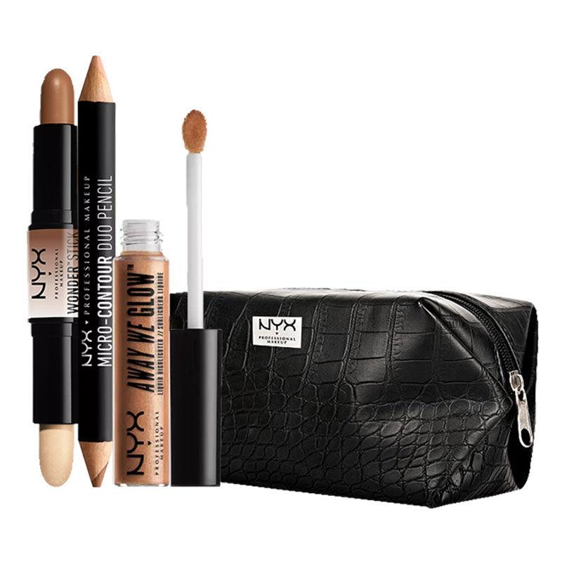 NYX Professional Makeup Contour Goals By Neha Desai Gold Rush Medium Deep Universal