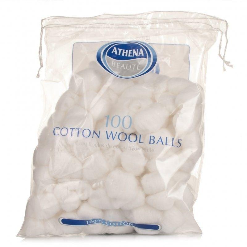 Athena Cosmetic White Cotton Balls