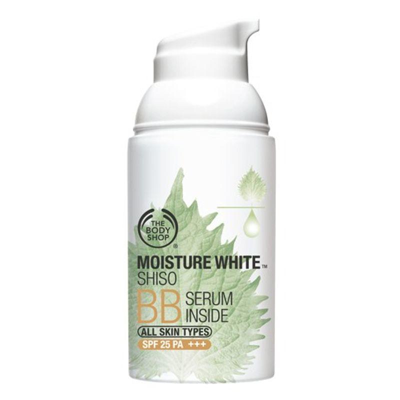 The Body Shop Moisture White Shiso BB Serum Inside SPF 25 PA+++