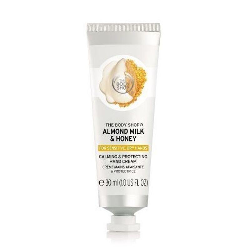 The Body Shop Almond Milk & Honey Calming & Protecting Hand Cream