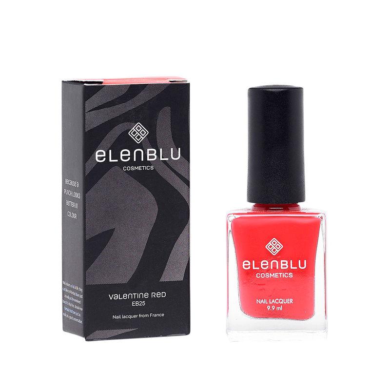 Elenblu Pastels Nail Polish - EB25 Valentine Red