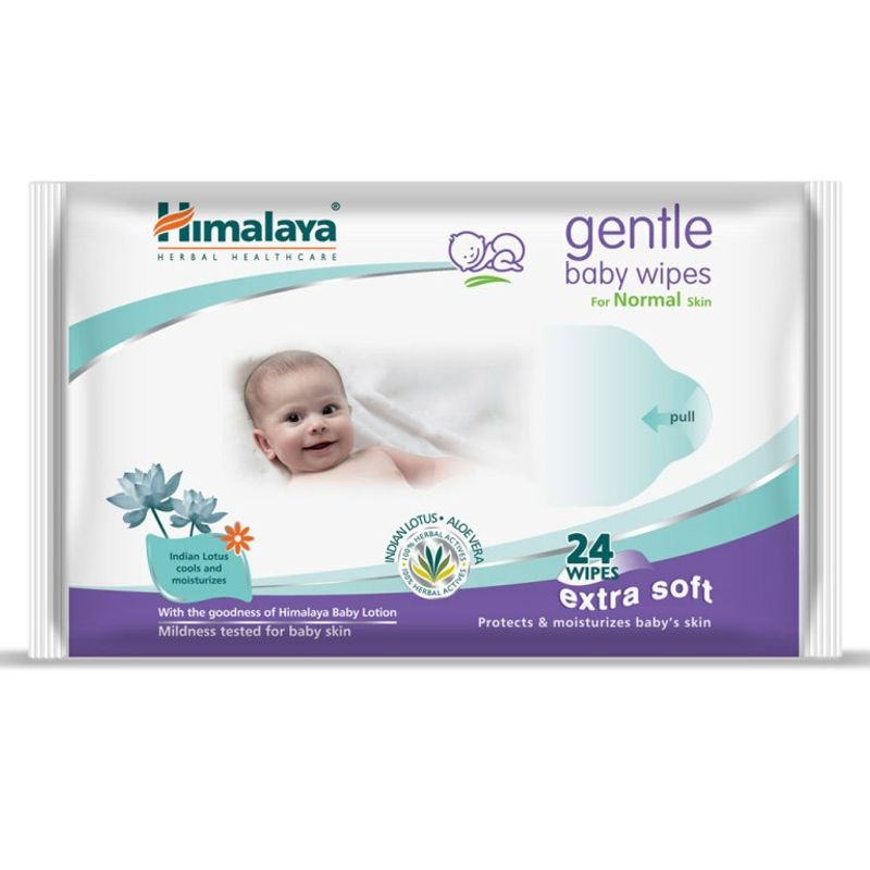 Himalaya Baby Care Gentle Baby Wipes