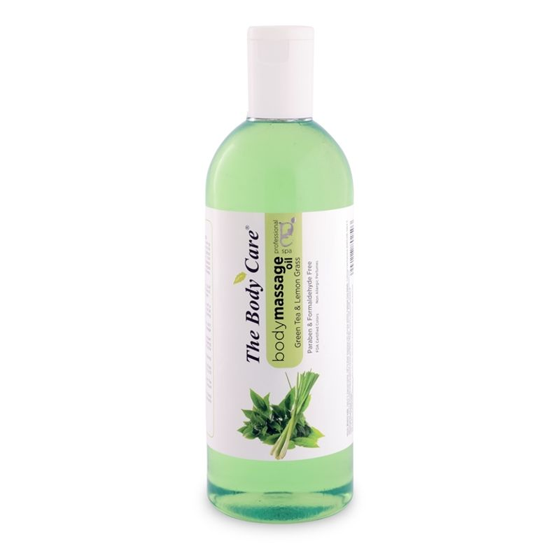 The Body Care Green Tea & Lemon Grass Body Massage Oil