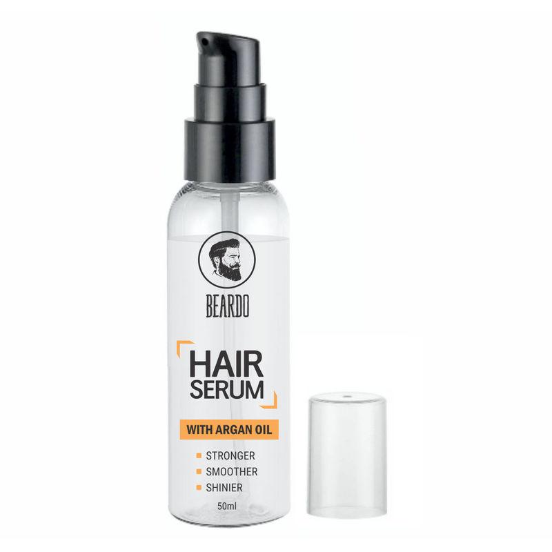 Beardo Hair Serum Fights Graying Of Hair - With Argan Oil