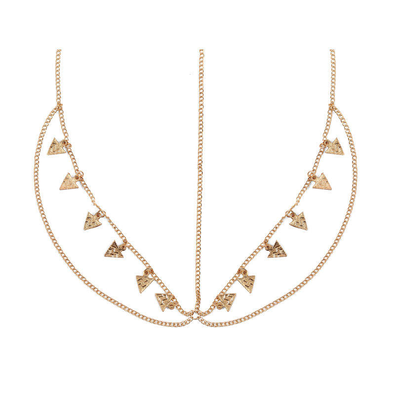 Hair Drama Company Charmed String Head Chain - Golden