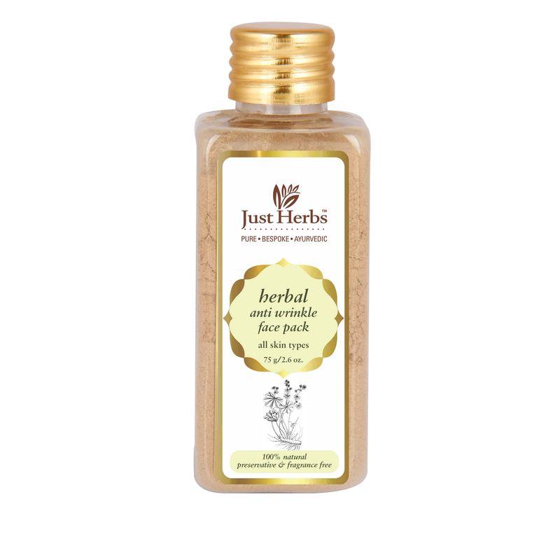 Just Herbs Herbal Anti Wrinkle Face Pack