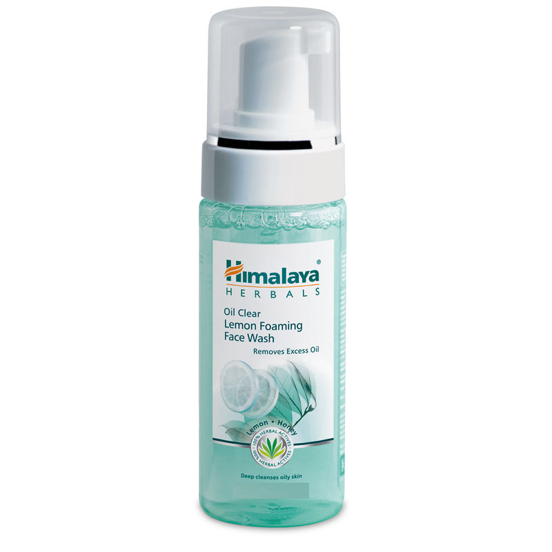 Himalaya Herbals Oil Clear Lemon Foaming Face Wash