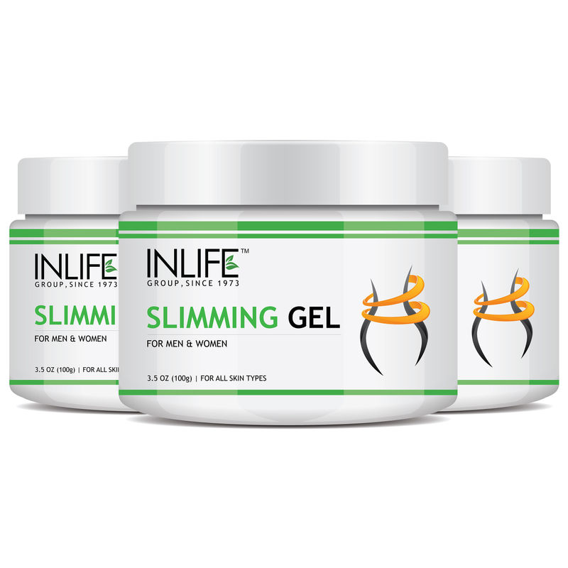 INLIFE Slimming Gel With Cambogia For Inch Loss & Fat Metabolism Pack Of 3