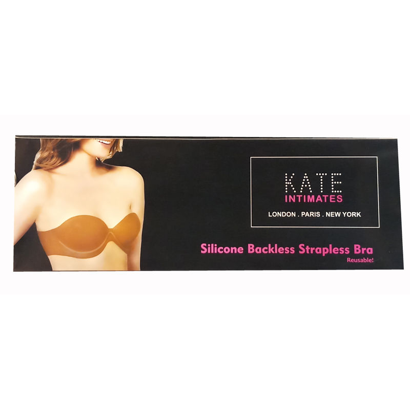 1fff84cc1e109 Kate Silicone Backless   Strapless Reusable Cup Bra - Nude at nykaa.com