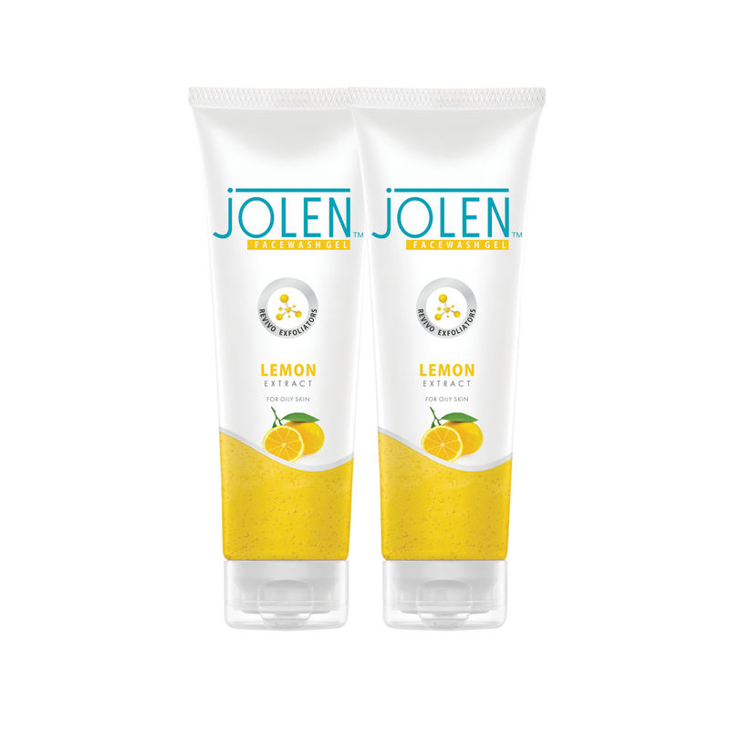 Jolen Lemon Face Wash Twin Pack