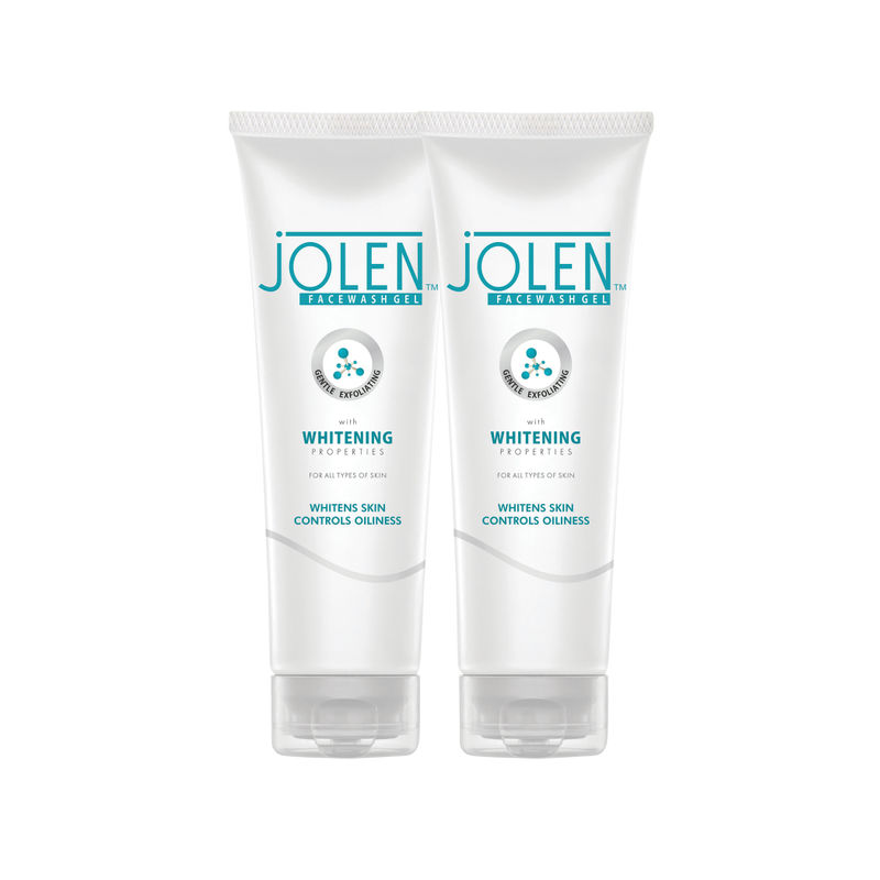 Jolen Whitening Face Wash Twin Pack