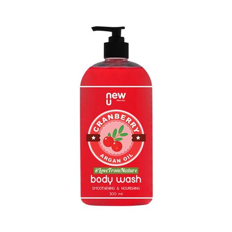NewU Cranberry Argan Oil Body Wash