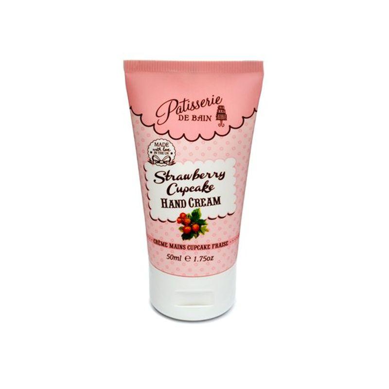 Patisserie De Bain Strawberry Cupcake Hand Cream Tube