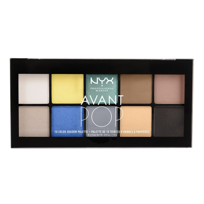 NYX Professional Makeup Avant Pop! Shadow Palette