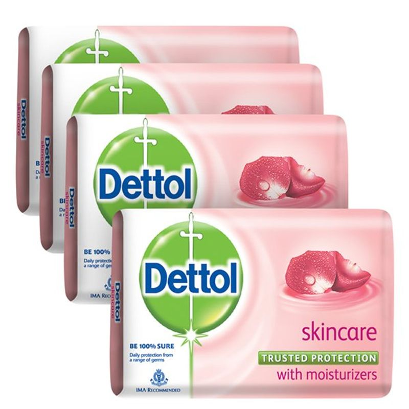 Dettol Skincare Soap (Buy 3 Get 1 Free)(Off Rs.31)