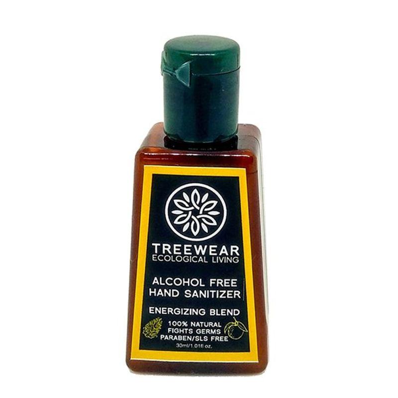 TreeWear Natural Alcohol-free Hand Sanitizer - Energizing Blend