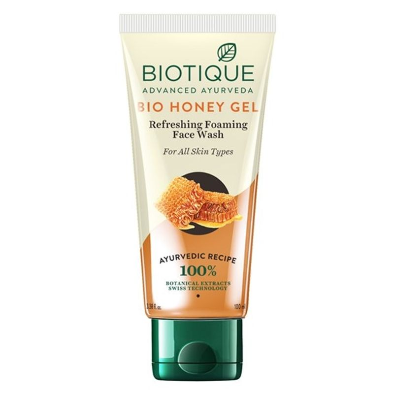 Biotique Bio Honey Gel Refreshing Foaming Face Wash For All Skin Types