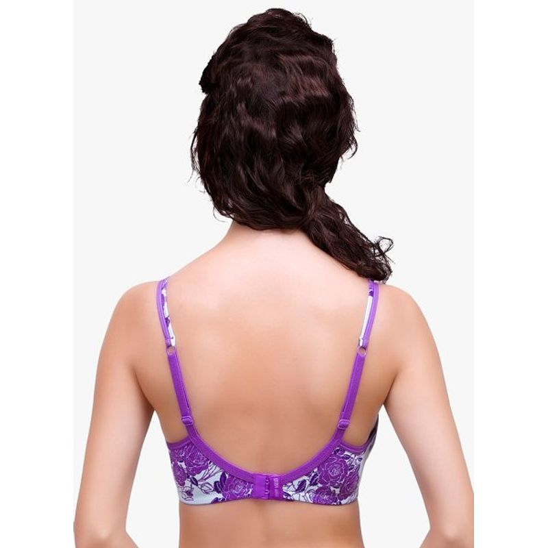 3bee02afec Inner Sense Organic Antimicrobial Soft Cup Minimizer Bra - Purple at  Nykaa.com