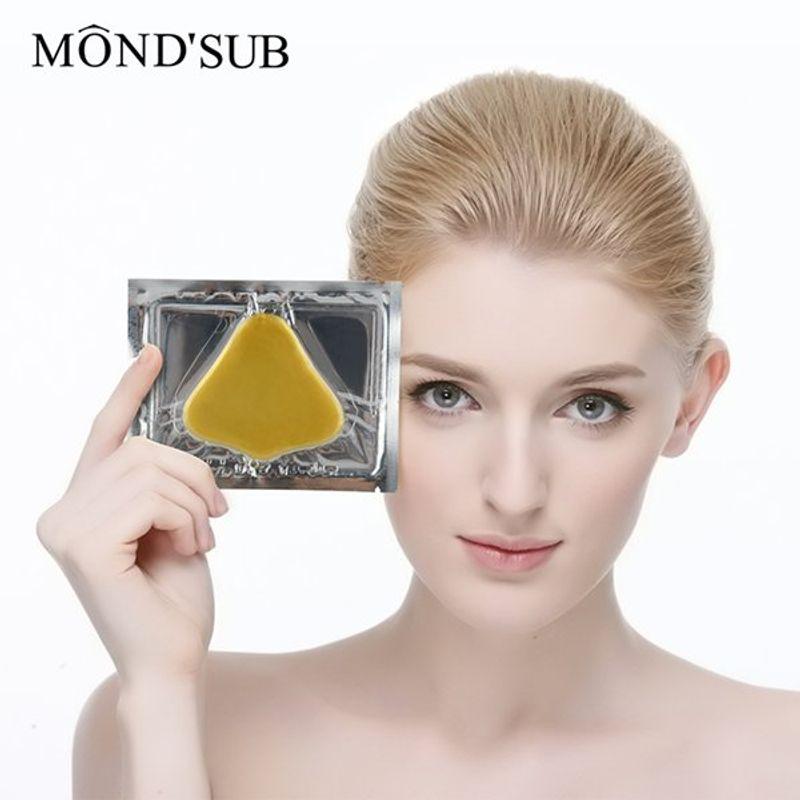 Gold Collagen Nose Mask 4-Pack emerginC Earth Hydrating Phytelene Cream 50ml/1.7oz