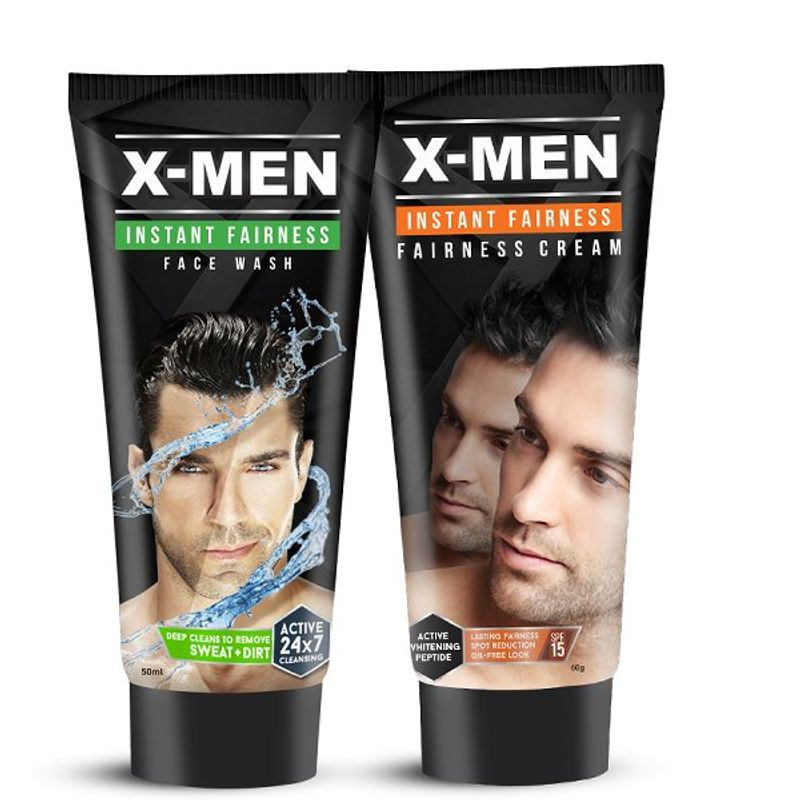 X-Men Combo Set Face Wash + Fairness Cream (Set Of 2)