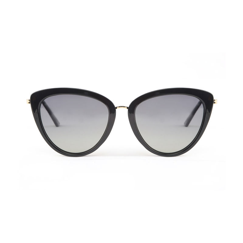 cfd834d8ac Marie Claire MC013 C1 Cat-eye Polarized Sunglasses - Black at Nykaa.com