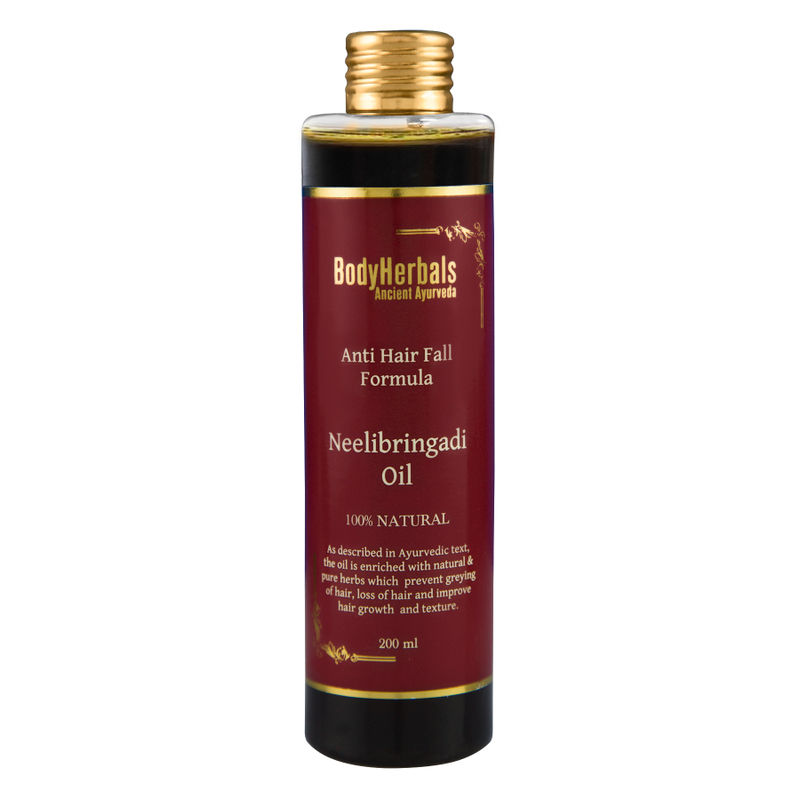 BodyHerbals Ancient Ayurveda Anti Hair Fall Formula Neelibringadi Hair Oil