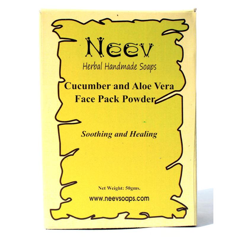 Neev Cucumber And Aloe Vera Face Pack Powder