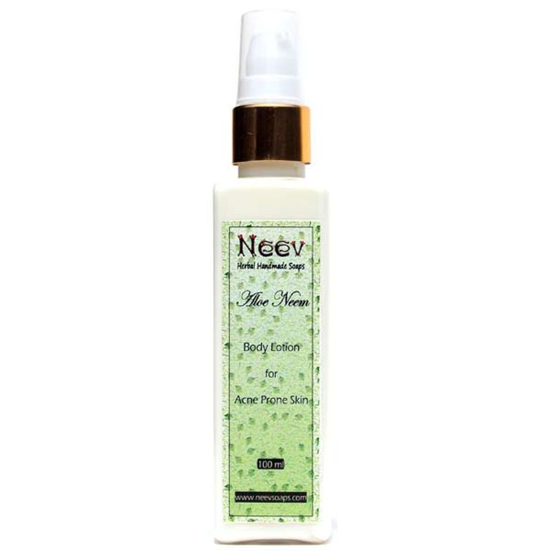 Neev Aloe Neem Lotion For Acne Prone Skin