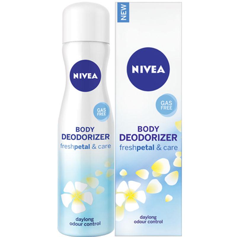 Nivea Body Deodorizer Fresh Petal & Care Spray For Women Save Rs.20