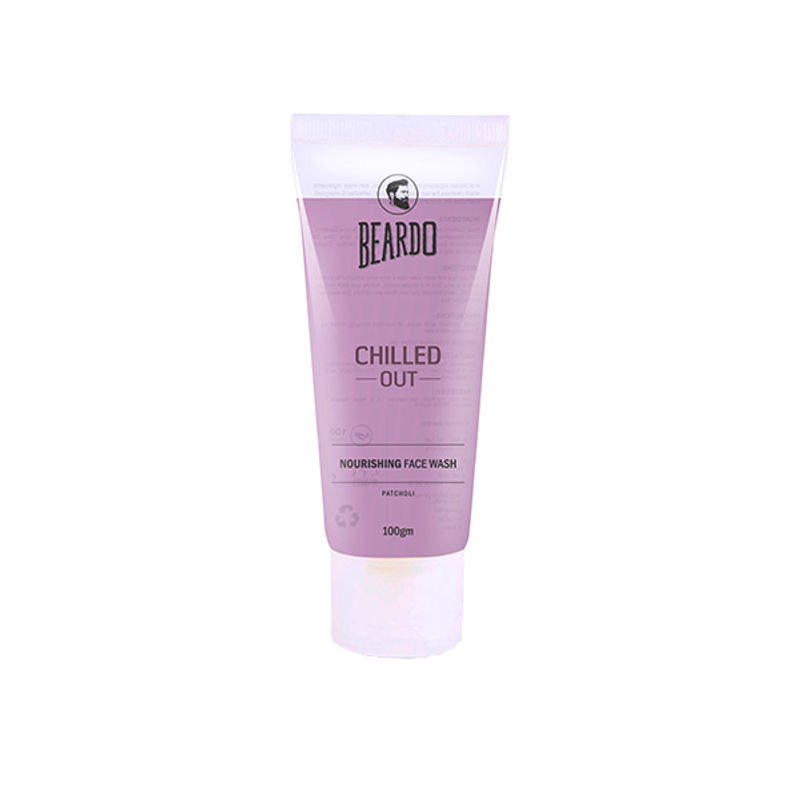 Beardo Chilled Out Nourishing Men's Face Wash For Dryness - 100 Gm