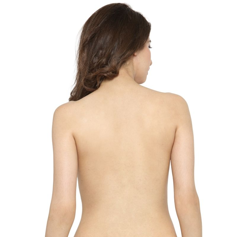 a5a485dc2cc78 N-Gal Deep U Plunge Self Adhesive Black Push Up Invisible Stick On Backless  Strapless Bra at Nykaa.com