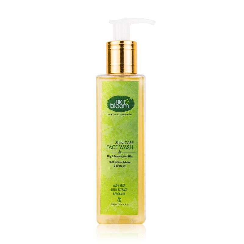 Biobloom Aloe Vera Neem Extract Bergamot Face Wash - NYBB000000043