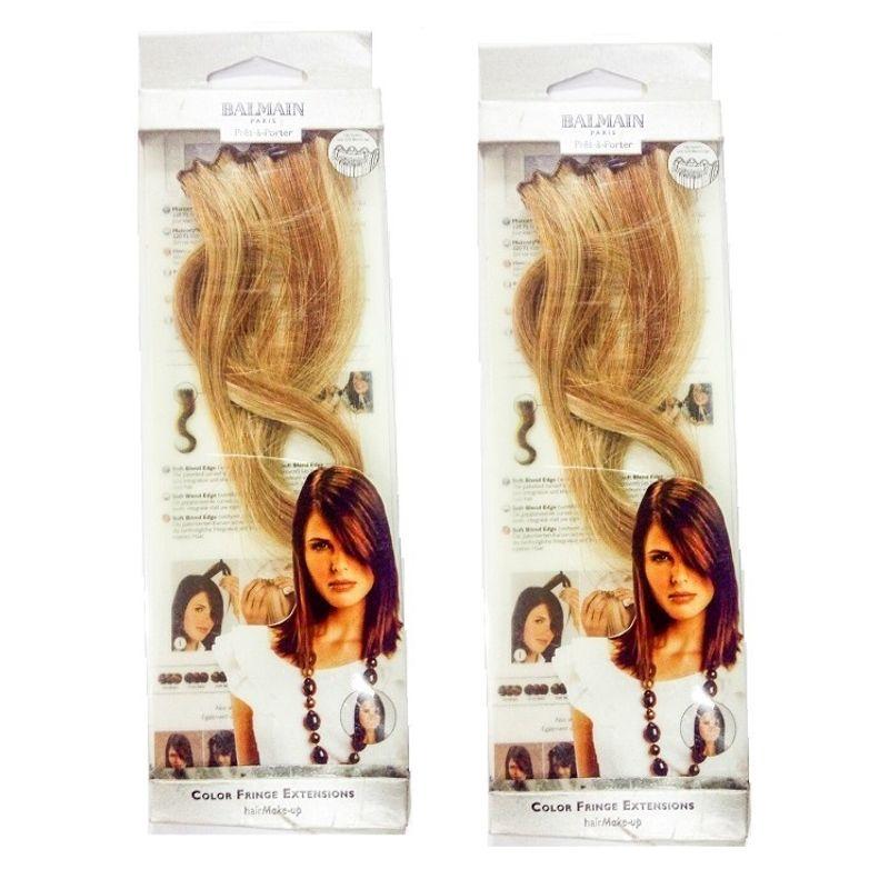 Balmain Paris Hmu 1Pc Color Fringe 30Cm Hair Extension - Honey Blonde(B1G1)