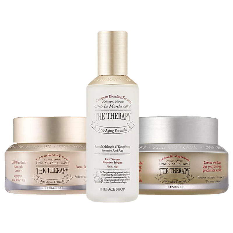The Face Shop Thrive With Therapy Winter Care Combo For Dry Skin