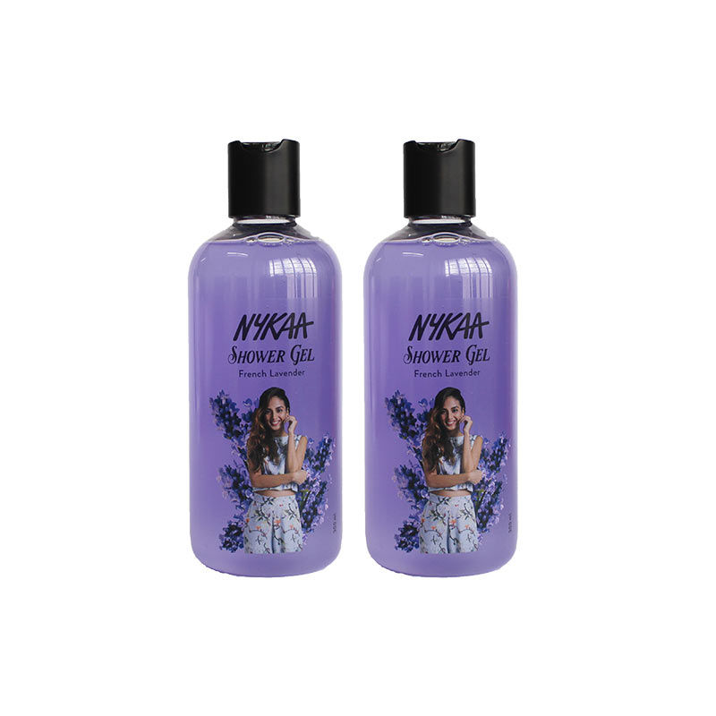 Nykaa French Lavender Shower Gel Pack Of 2