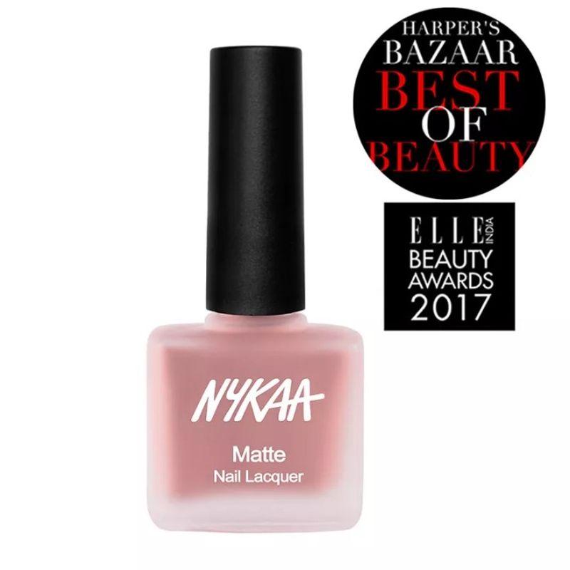 Nykaa Cosmetics Nail Polish - Buy Nykaa Matte Nail Enamel Online in ...