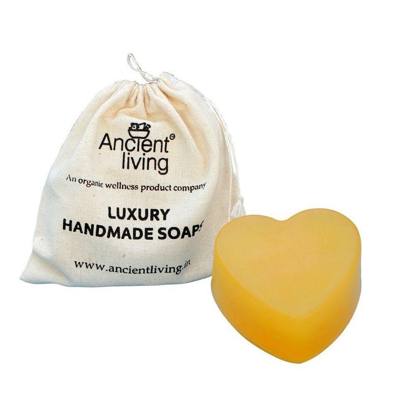 Ancient Living Handmade Heart Shaped Soap (YC)