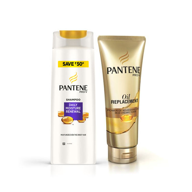 Pantene Pro-V Daily Moisture Renewal Shampoo Save Rs.50 - Oil Replacement