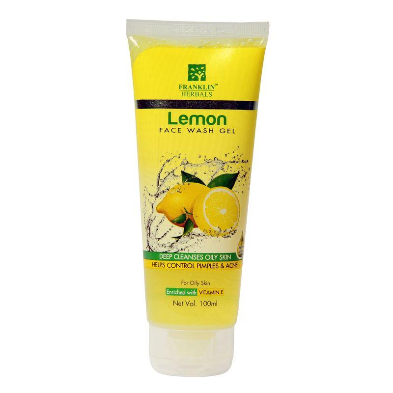 Franklin Herbals Lemon Face Wash Gel