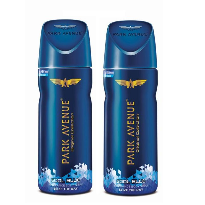 Park Avenue Men's Classic Deo Cool Blue (Pack Of 2)