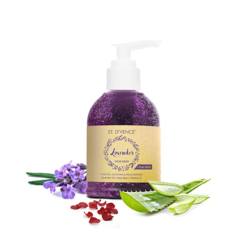 St. D'Vencé French Lavender Oil & Rose Water Face Wash