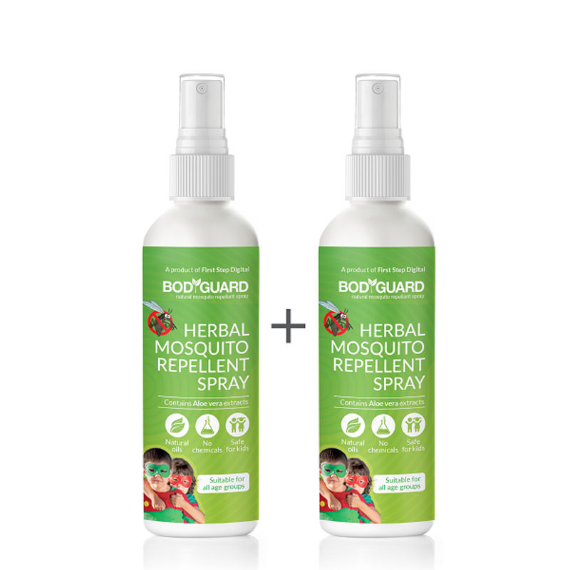 Bodyguard Natural Anti Mosquito Spray Pack Of 2