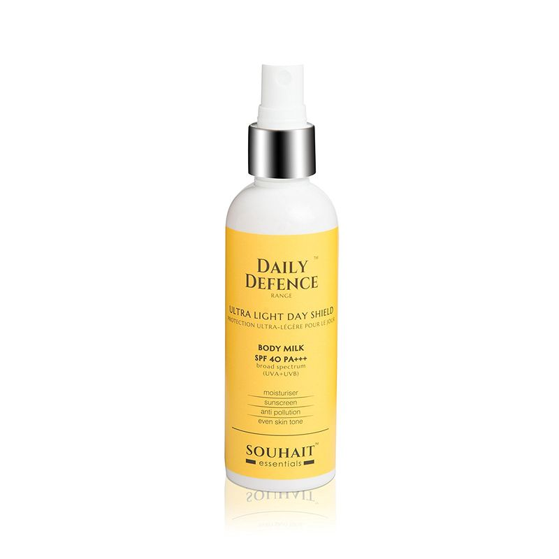 Souhait Essentials Body Milk Spray - Ultra Light Day Shield SPF 40