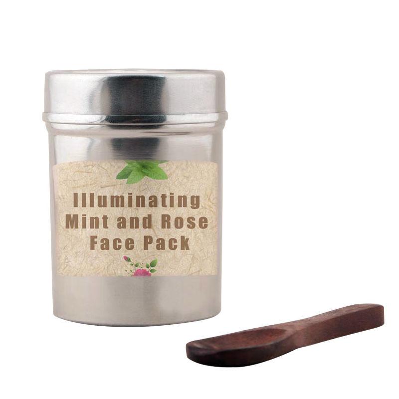 Tjori Illuminating Mint And Rose Face Pack