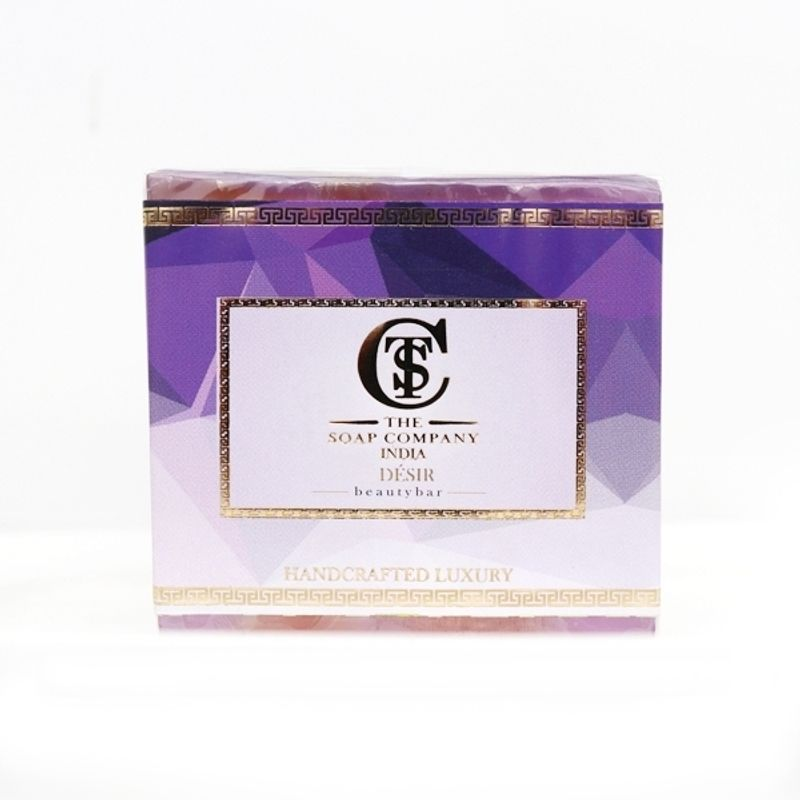 The Soap Company India Handcrafted Luxury Desir Shea Butter Soap