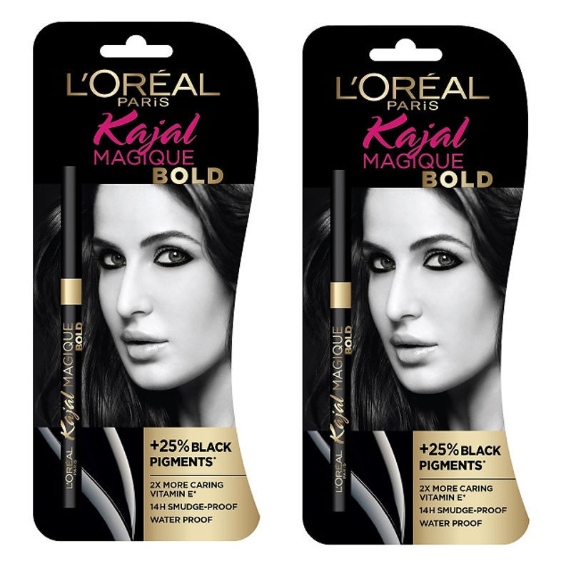 L'Oreal Paris Kajal Magique Bold (Pack Of 2)