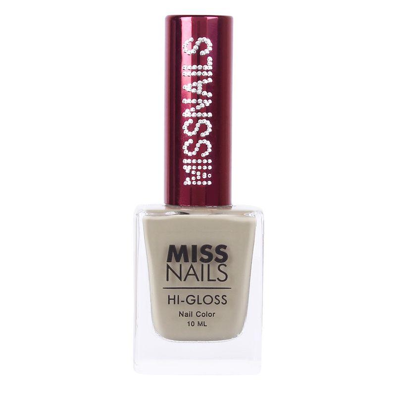 Miss Nails Hi-Gloss Nail Polish - MN 12 Sober Skin