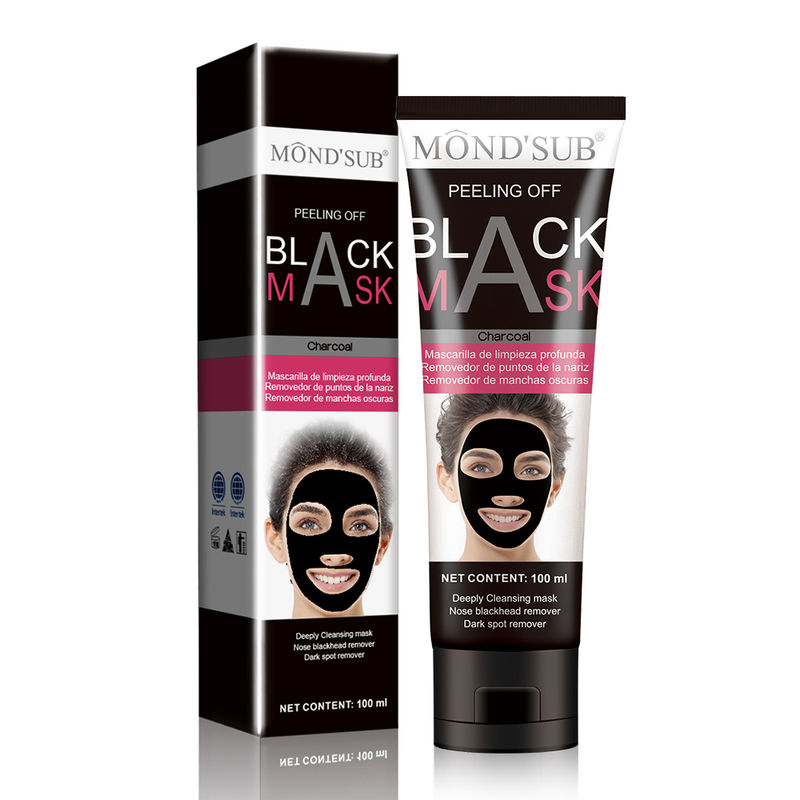 Mond'Sub Peeling Off Black Mask With Volcanic Soil & Charcoal Powder - Pack Of 2