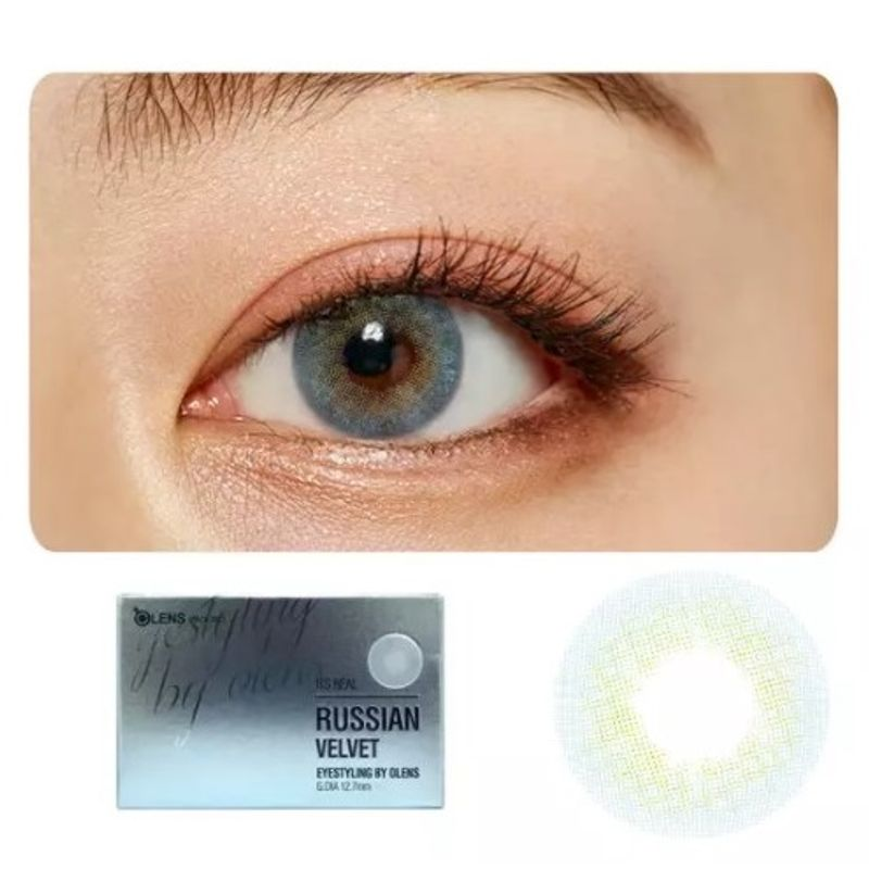 8ec00bd2273 O-Lens Russian Velvet Contact Lenses - Blue at Nykaa.com